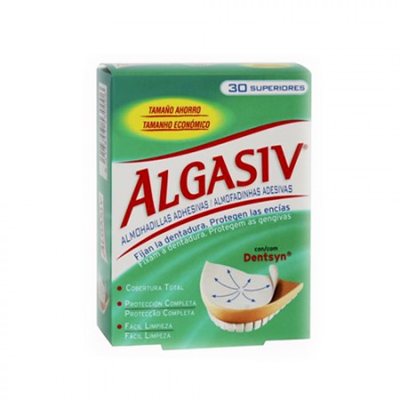 ALGASIV DENTADURA SUPERIOR ALMOH ADHES 30 U