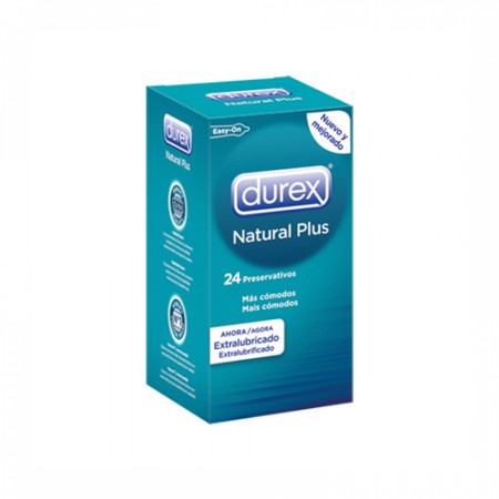 DUREX NATURAL PLUS 24 U