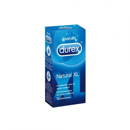 DUREX NATURAL XL 12 U