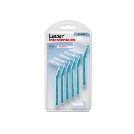 INTERDENTAL LACER ANGULAR CONICO 6 U