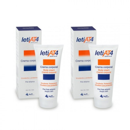 LETI AT4 CREMA CORPORAL DUPLO 200 ML