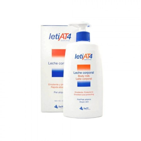 LETI AT4 LECHE CORP 500 ML + GEL 200