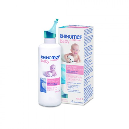 RHINOMER BABY SPRAY NASAL F- EXTRA SUAVE 115 ML