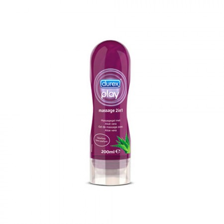 DUREX PLAY MASSAGE ALOE VERA 200 ML