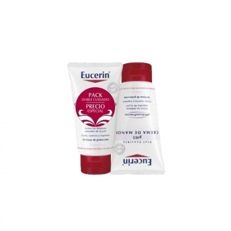 EUCERIN PH5 DUPLO CREMA MANOS P/SENS 75 ML