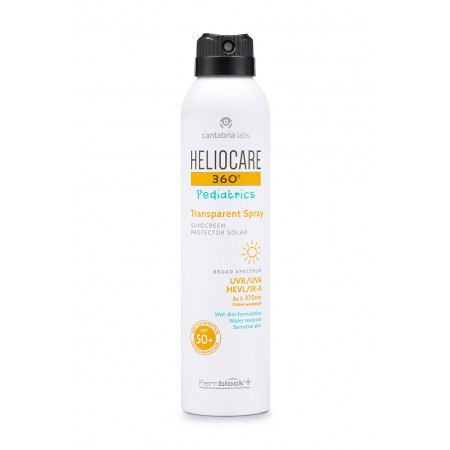 HELIOCARE 360º PEDIATRIC SPRAY TRANSP SPF50 200 ML