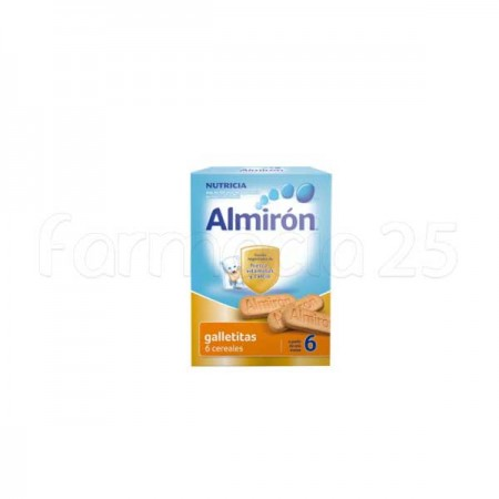 ALMIRON GALLETITAS 6 CEREALES +6M 180 G