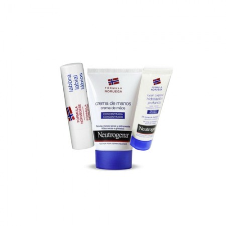 NEUTROGENA CR MANOS CONCENT + STICK LABIAL + LOC