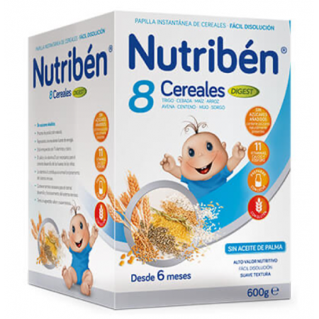 NUTRIBEN 8 CEREALES DIGEST 600 G