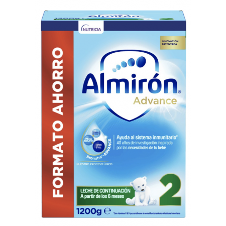 ALMIRON ADVANCE+ PRONUTRA 2 POLVO 1200 G