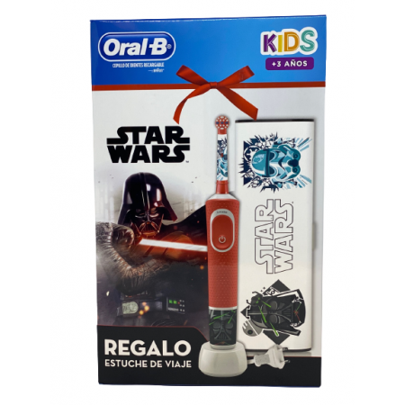 ORAL-B CEPILLO ELECTRONICO STAR WARS + ESTUCHE