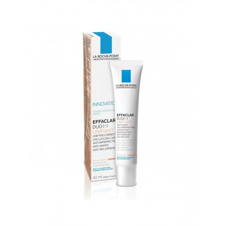 EFFACLAR DUO (+) UNIFIANT MEDIUM LRP 40 ML