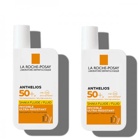 ANTHELIOS PACK DUPLO SHAKA FLUID SPF50+ 50 ML